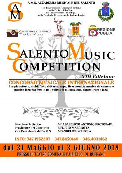 salento music competition, ams ruffano, ams accademia musicale del salento