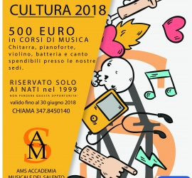 bonus 500 euro ams, bonus cultura ams, 500 euro ams, bonus 500 euro corsi di musica
